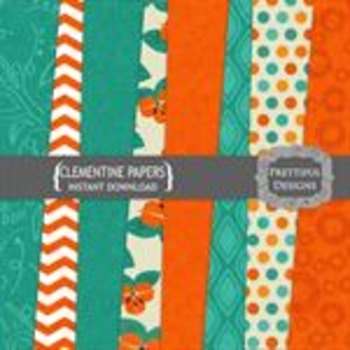 Clementine Paper Pack