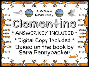 Clementine (Sara Pennypacker) Novel Study / Reading Comprehension Unit