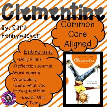 Clementine Unit Common Core Aligned