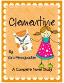 Clementine by Sara Pennypacker-A Complete Book Response Journal