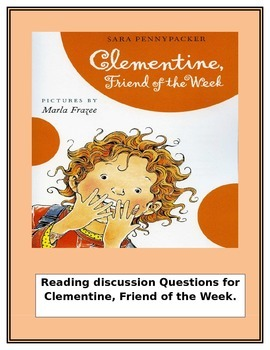 Clementine:Friend of the Week Discussion Questions by Chap
