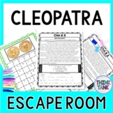 Cleopatra ESCAPE ROOM: Ancient Egypt -Shakespeare -Julius Caesar -Marc Antony
