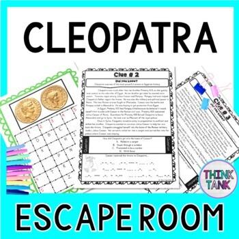 Cleopatra ESCAPE ROOM: Ancient Egypt - Julius Caesar - Marc Antony