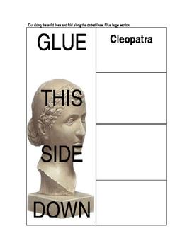 Cleopatra Foldable