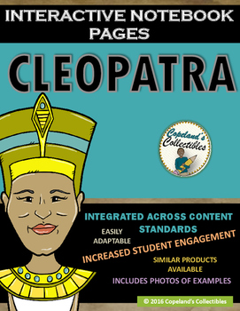 Cleopatra's Interactive Notebook Pages