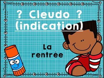 Cleudo (indication) pour la rentrée