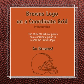 Cleveland Browns Logo on the Coordinate Plane
