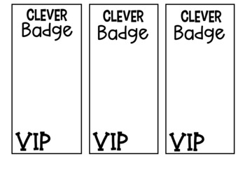 Clever Badge editable for log in