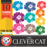Clever Cat Clip Art: Flowers, Take me back to Summer!