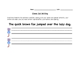 Clever Cat Writing