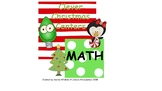 Clever Christmas Math Centers