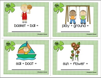 Clever Clovers Compound Words K-2