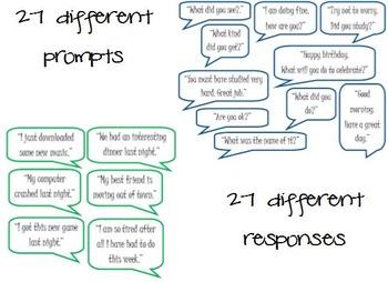 Clever Conversations: A Social Skills Activity