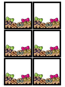 Clever Cookies Bulletin Board Set- Editable