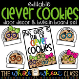 Clever Cookies Bulletin Board Set- Editable