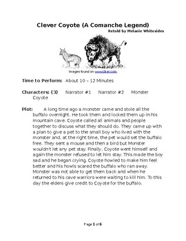 Clever Coyote - Native American Reader's Theater