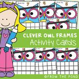 Clever Owl Ten and Twenty Frame Math Center Activities