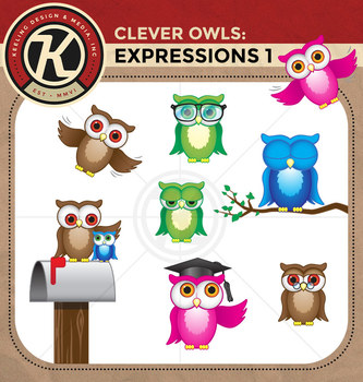 Clever Owls - Expressions 1