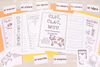 Clic Clac Muu: Printables - SPANISH Book Companion (53 pgs)
