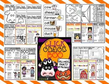 Click, Clack, BOO!: A Fall/Halloween Literacy Unit