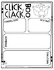 Click, Clack, BOO! comprehension craftivity