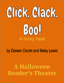 Click, Clack, Boo! - A Halloween Reader's Theater