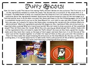 Click, Clack, Boo! A Tasty Halloween Unit