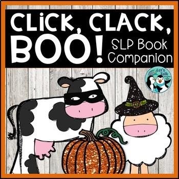 Click, Clack, Boo: Book Companion for Speech Therapy