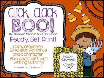 Click, Clack, Boo! Extension Activities