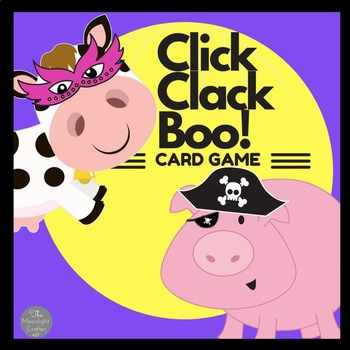 Click Clack Boo: I Have Who Has? Card Game