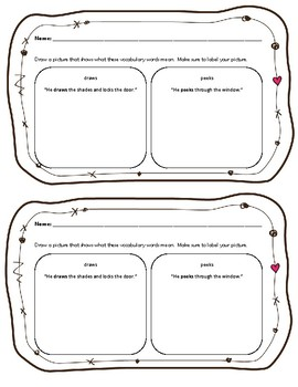 Click Clack Boo Reading Response Activities