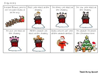 Click, Clack, Ho! Ho! Ho! A Comprehension & Sequencing Freebie