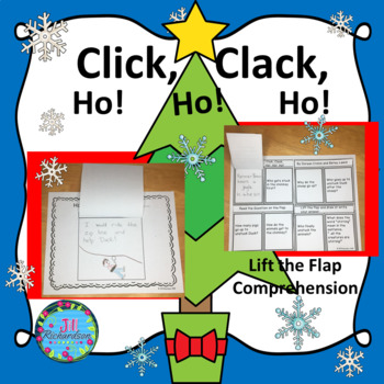 Click, Clack, Ho! Ho! Ho!  Book Companion! (Reading Comprehension)