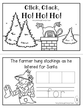 Click, Clack, Ho! Ho! Ho! Math, Literacy and Craftivity