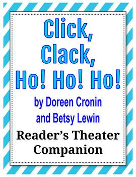 #newdeals Click, Clack, Ho! Ho! Ho! by Doreen Cronin - Reader's Theater