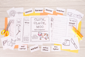 Click Clack Moo: Activities and Printables - Book Companion (53 Pages of Fun!)