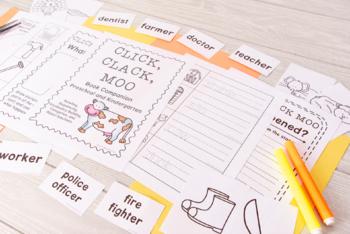 Click Clack Moo: Printables - Book Companion (53 Pgs!)