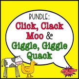 Bundle- Click, Clack, Moo & Giggle, Giggle Quack (Speech B