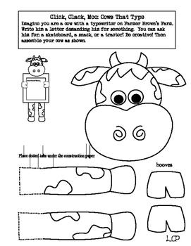 Click Clack Moo: Cow Pack