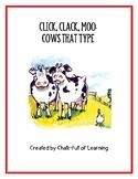 Click, Clack, Moo: Cows That Type Activity Bag
