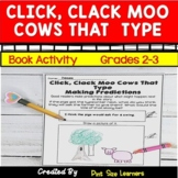 Click Clack Moo Cows That Type   Book Based Activities   Grades 2 and 3