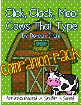Click, Clack, Moo: Cows That Type {Companion Pack}