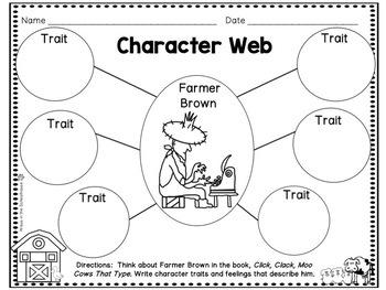 Click, Clack, Moo Cows That Type - Doreen Cronin Book Study