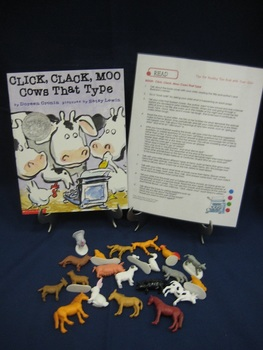 Click, Clack, Moo Cows That Type English parent pack