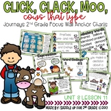Click, Clack, Moo Cows That Type Focus Wall Anchor Charts and Word Wall Cards