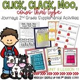 Click, Clack, Moo Cows That Type Journeys 2nd Grade Supplemental Activities