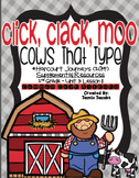 Click, Clack, Moo: Cows That Type (Journeys 2nd Grade - Supplemental Materials)