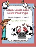 Click, Clack, Moo: Cows That Type (Journeys Second Grade Unit 3 Lesson 11)