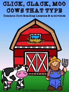 Click, Clack, Moo Cows That Type {Lessons & Activites}