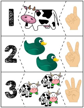 Click Clack Moo Cows That Type Number Puzzles
